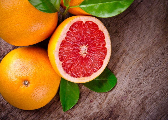 Grapefruit Schälen