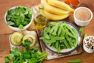 Vitamin-K-Mangel-Lebensmittel