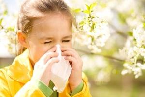 Allergietest-Kind