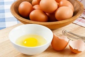 Lebensmittelallergie-Ei