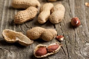 Lebensmittelallerie-Erdnüsse